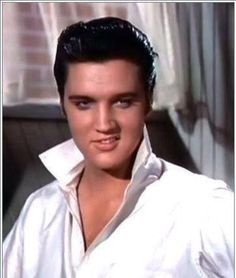 Elvis' lip curl. That also drove everyone mad with excitement, he certainly knew how to do it, whilst being gorgeous at the same time