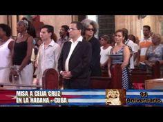 1ra Misa a Celia Cruz en La Habana - Cuba