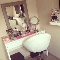 ▲ Rangement makeup : inspirations