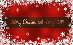 Merry christmas happy new year 2014 greetings