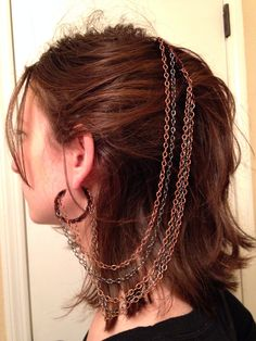 Earring hair clip?
