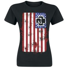 Amerika (Maglia donna) by Rammstein