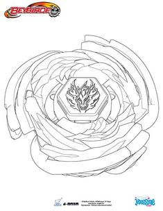 beyblades pegasus coloring pages - photo#16