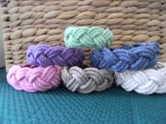 Sailor bracelets from Mystic Knotwork