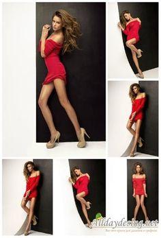 Клипарт девочка платье хайрез