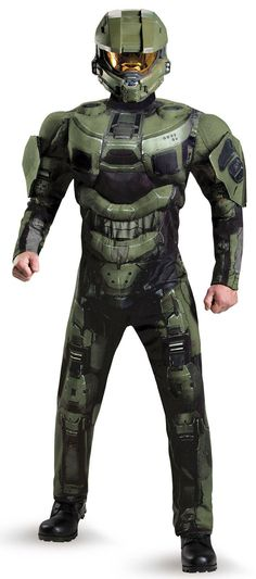 awesome costumes halo master chief adult costume just added
