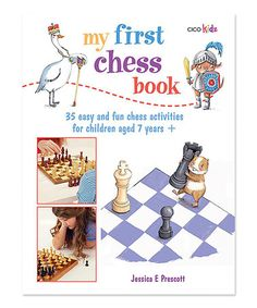 Love this My First Chess Book Paperback on #zulily! #zulilyfinds