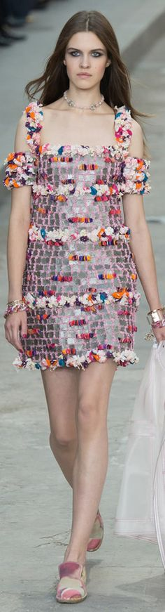 #Chanel RTW Paris Fashion Week Spring 2015 Collection #Parisfashionweek #fashionweek #fashionshow #runway