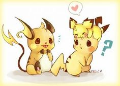 imagenes de pokemon evoluciones de pikachu