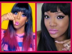 ▶ Kelly Rowland -Kisses Down Low (Official Video) Inspired Makeup - YouTube