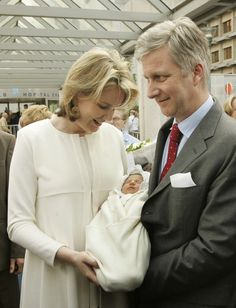 Baby Princess Eleonore Leaves Erasmus Hospital In Anderlecht