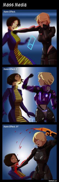 Mass Effect Comic Mass Media