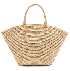 Ditch your leather tote and check out the ways we're wearing straw bags everywhere (NOT your same old carry-all beach tote). Wallet With Coin Pocket, Straw Tote, Minimalist Wallet, Knitted Bags, Revolve Clothing, Summer Outfits, Good Things, Tote Bag, Leather