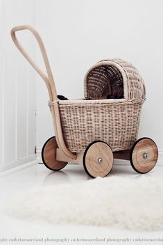 Dolls Prams, Baby Carriage, Nursery Inspiration, Kid Spaces, Vintage Toys, Baby Love, Kids Playing, Cute Kids, Wooden Toys