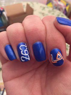 LA Marathon nails