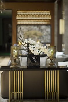 Asian fused modern interior
