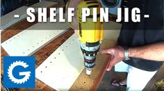 How To Make A Shelf Pin Jig | Shop Project