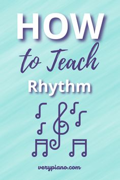 Rhythm skills are so important for piano students. I try to squeeze rhythm activities into as many piano lessons as possible. I find that it really helps students to work with rhythm outside of the context of playing music so that they have a good foundation and skills to draw from when tricky rhythms show up in music. #teachingpiano #pianoteacher #pianolessons #rhythm #music #teachingrhythmtokids Piano Lessons, Music Lessons, Curriculum, Homeschool, Online Lessons, Best Foundation, Teaching Tools, Small Groups, 5 Ways