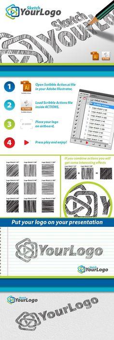 Sketch Your Logo for $4 - GraphicRiver #illustrator #AdobeIllustrator #GraphicDesign #vector #BestDesignResources