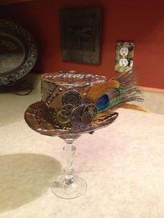 Mini steampunk duct tape hat I made