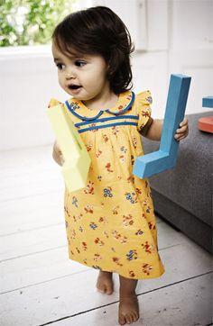 Mini Boden Pretty Tea Dress & Bloomers (Infant) | Nordstrom