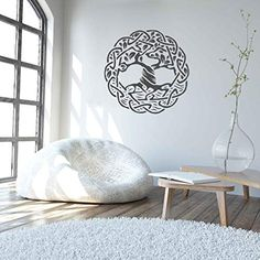 tree of life wall decals for living room celtic tree of life wall decal tree of life wall decor tree of life wall art large wall stickers Large Wall Stickers, Large Wall Art, Wall Decals, Living Room Corner Decor, Living Room Furniture, Trippy Tapestry, Bamboo Wall, Celtic Tree Of Life, Tree Wall Decor