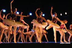 Campomaiornews: Bailarinas com arte, elegância e beleza proporcion...