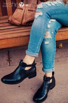Women's Fashion.  @børnshoes: The Only Boots You Need This Winter.  WeWearBorn SeeComfortDifferently, AD