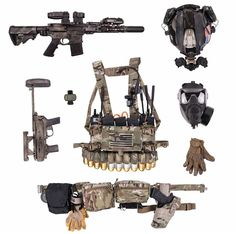 Police Tactical Gear, Tactical Life, Tactical Equipment, Tactical Survival, Military Gear, Military Equipment, Tactical Response, Battle Rifle, Tac Gear