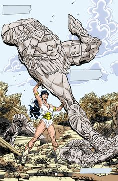 Wonder Woman Strength Of A Woman, John Byrne, Paradise Island, Shape And Form, Princess Diana, Different Styles, Fashion Art, Wonder Woman, Fantasy