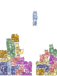 These Wuvely kittens will rock your world! Kittens in rocking chairs I Love Cats, Cute Cats, Funny Cats, Funny Humor, Funny Quotes, Crazy Cat Lady, Crazy Cats, Animals Watercolor, All About Cats