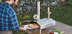 Uuni  From piping hot pizzas to perfectly charred veggies and meats - this sleek oven will make it easy to wood fire like a professional.