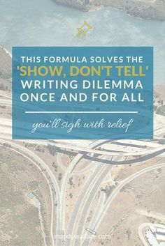 """Formula Solves The 'Show, Don't Tell' Writing Dilemma Once And For All Are you having issues with """"Show, Don't Tell"""" in your novel?Are you having issues with """"Show, Don't Tell"""" in your novel? Writing Quotes, Fiction Writing, Writing Advice, Writing Resources, Teaching Writing, Writing Help, Writing Skills, Writing A Book, Writing Ideas"""