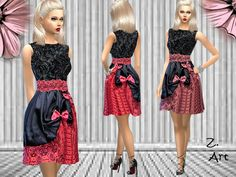 Sims 4 CC's - The Best: Dress by Zuckerschnute20