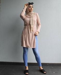 Pinterest @adarkurdish Eid Outfits, Trendy Outfits, Muslim Fashion, Hijab Fashion, Modern Fashion, Fashion Top, Hijab Collection, Modern Hijab, Outfit Look