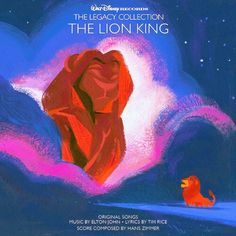 """Walt Disney Records: The Legacy Collection"" ▪ The Lion King ▪ Artwork by Lorelay Bové"