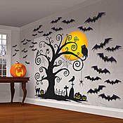 Halloween Wall Scene Set #EasyNip