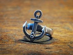 Ahoy Ring (various sizes) - Stainless Steel 3D printed ring