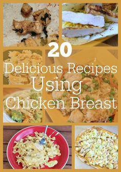 20 Delicious Chicken Breast Recipes