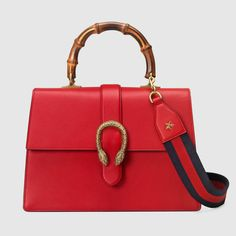 Dionysus leather top handle bag - Gucci Women's Handbags 421999CWLST6473