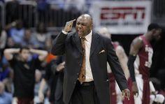 coach lenord hamilton | Florida State coach Leonard Hamilton reacts after his team was called ...