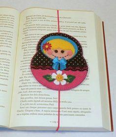 Babushka Bookmark