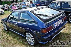 Blue VW Scirocco GTII on OZ wheels - by retromotoring - at the Wörthersee Treffen 2011 #VWSciroccoart Volkswagen, Vw Mk1, Vw Corrado, Bmw Z1, Vw Scirocco, Vw Cars, Car Engine, Cool Cars, Super Cars