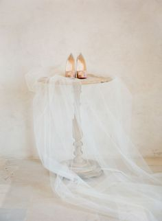 Wedding shoes - Cathedral Length Veil