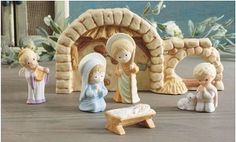 2012 Mary Hamilton Nativity - 6 Figurines *B 5095