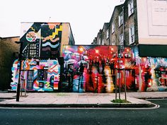 Street Art from Camden Town - London/UK