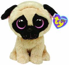 TY 7136079 - Pugsly - Mops hellbraun, 15 cm, Beanie Boos, Glubschis: Amazon.de: Spielzeug