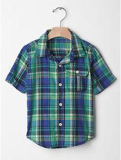 Madras plaid shirt | Gap