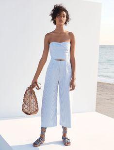 Zara Cut-Out Boatneck Jumpsuit