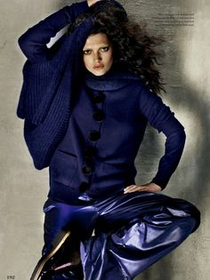 Elle Canada Editorial October 2014 - Kristen Murphy by Leda & St Jacques